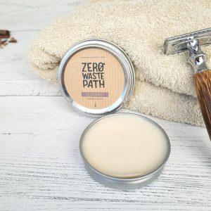 Lavender and Tea Tree Cream Deodorant Tin Plastic Free Natural Vegan